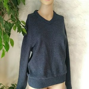 J. CREW NWOT Lambswool Slim Fit V-Neck Sweater